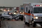 injury accidents when driving in rain in san francisco